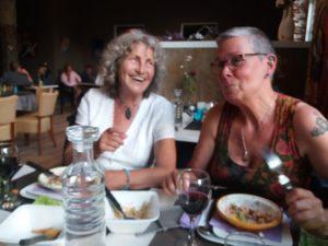 Ellen and Yasmin