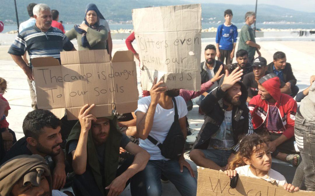 Dehumanzation of the refugee