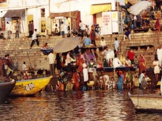 Varanasi - Heilige Ganges