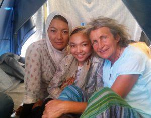 Fatima en Modisa Afganistan