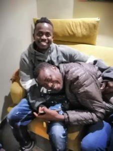 Ssentamu Oeganda en Abdulrahman uit Togo